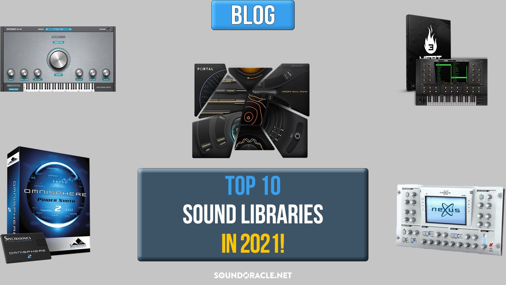 Top 10 Sound Libraries For Producers In 2021!