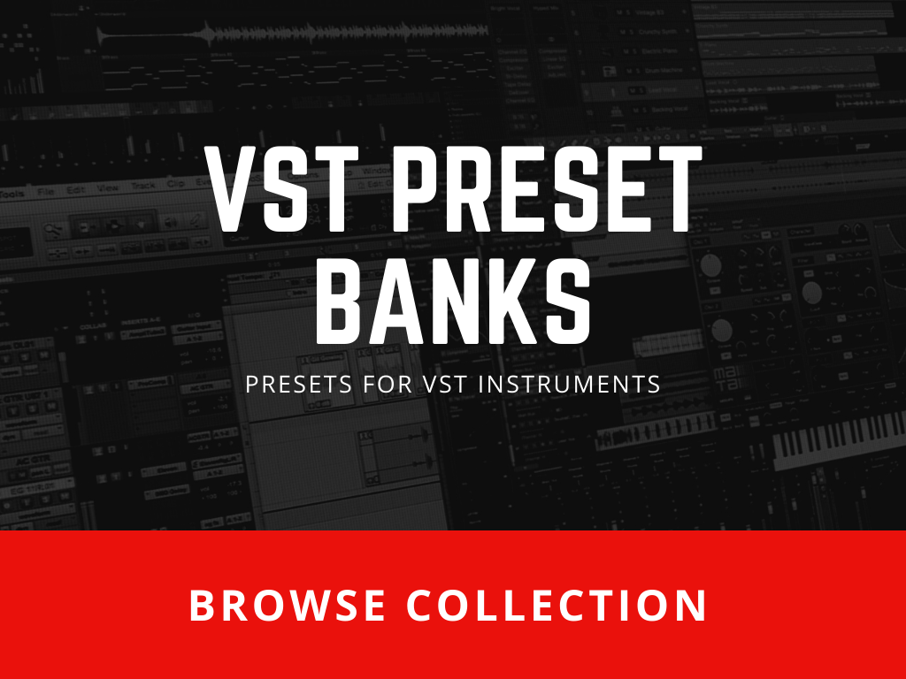 Presets for VST Instruments