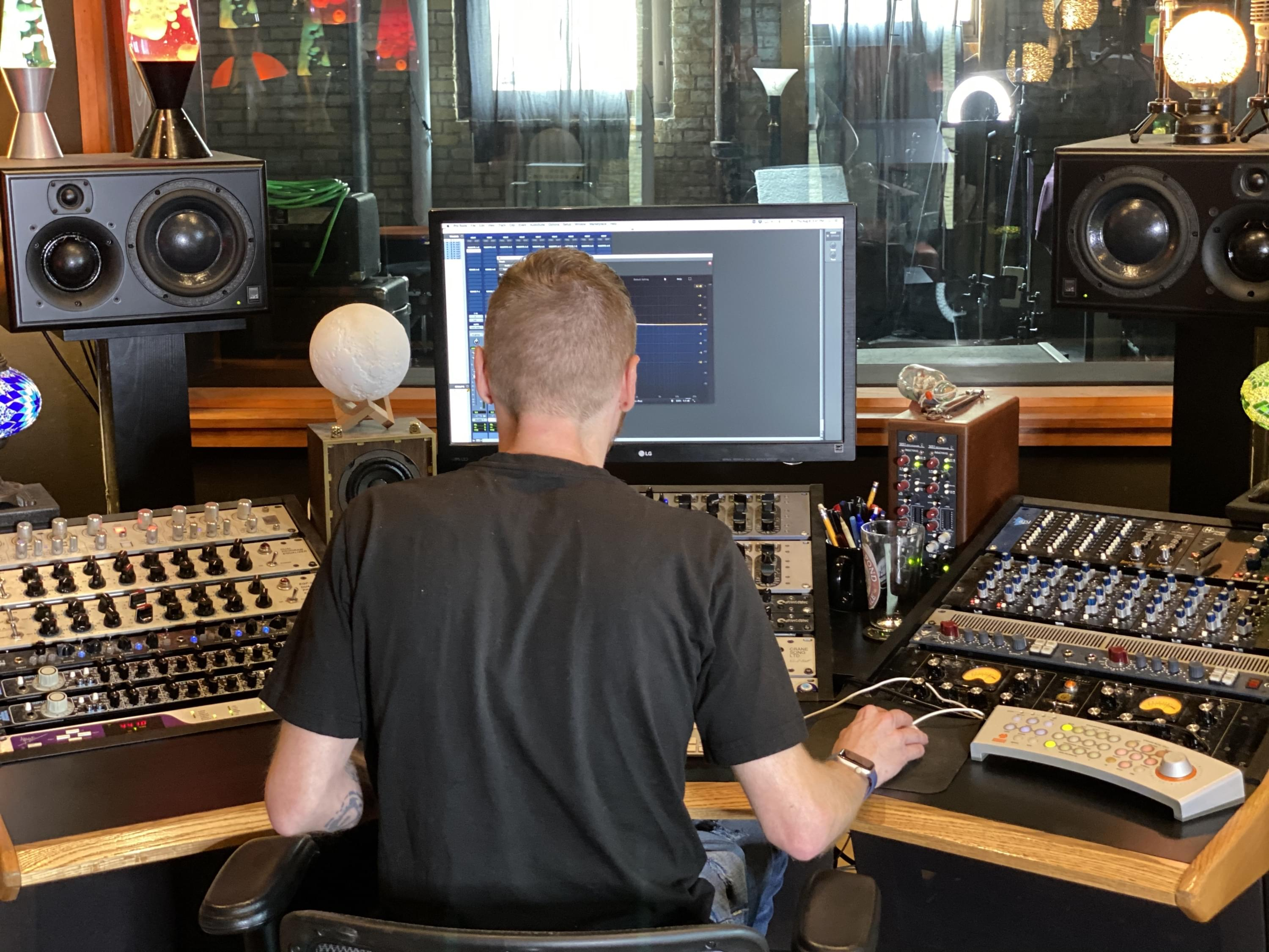Sound Engineer Realistic Production