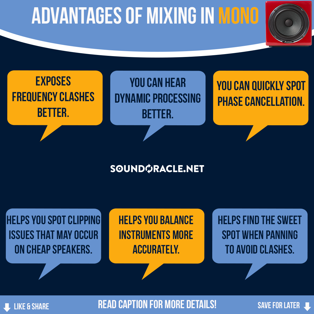 Advantages Of Mixing In Mono
