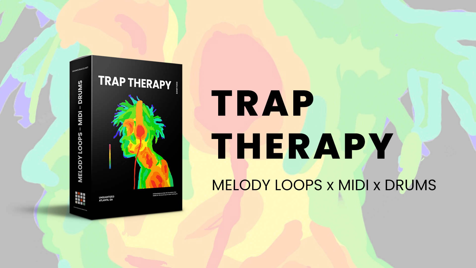 Trap Therapy - Melody Loops x Midi x Drums
