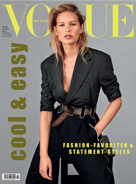 Legier Signet Ring in Vogue Germany October 2018