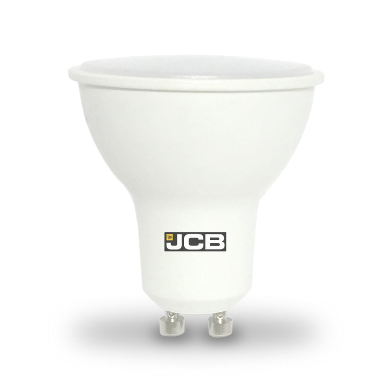 JCB 5W-50W LED GU10 100 Degree Non-Dim Warm White Pack of 12