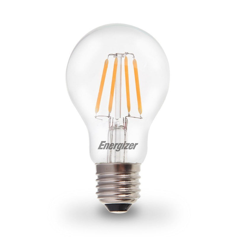 Energizer 6W-60W LED ES/E27 GLS Filament Non-Dim Light Bulb - LEDSmiths.com