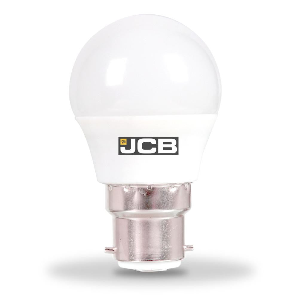 JCB 6W-40W Bayonet LED Golf Ball BC/B22d Non-Dim Warm White Light Bulb