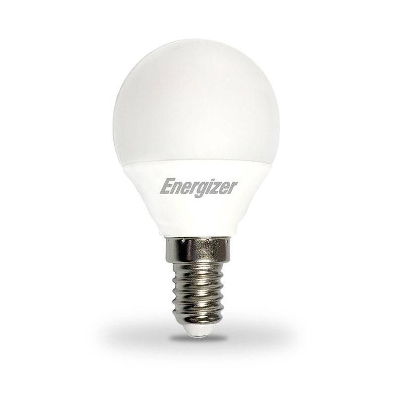 Energizer 6W-40W LED Golf Ball SES/E14 Dimmable Warm White