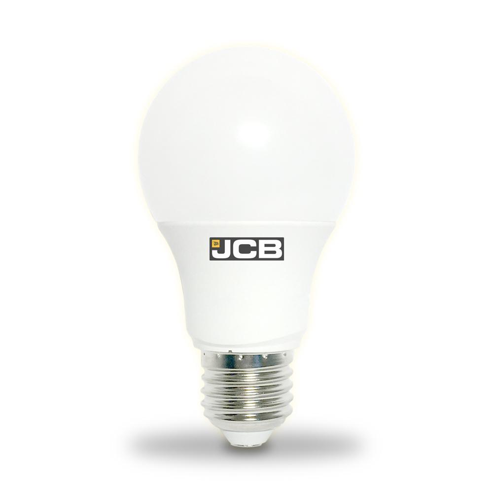 JCB 9W-60W LED GLS ES/E27 Warm White Light Bulb (Dimmable Available)