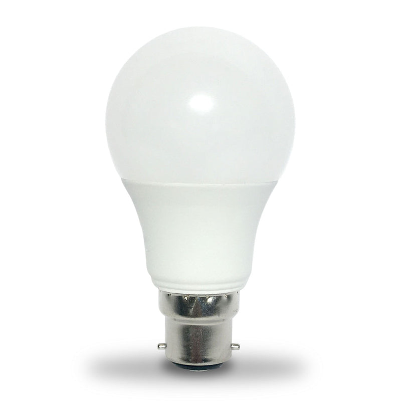 LED GLS 9W BC/B22d Bulb - Dimmable - 60W Equivalent - Warm White 2700K - LEDSmiths.com