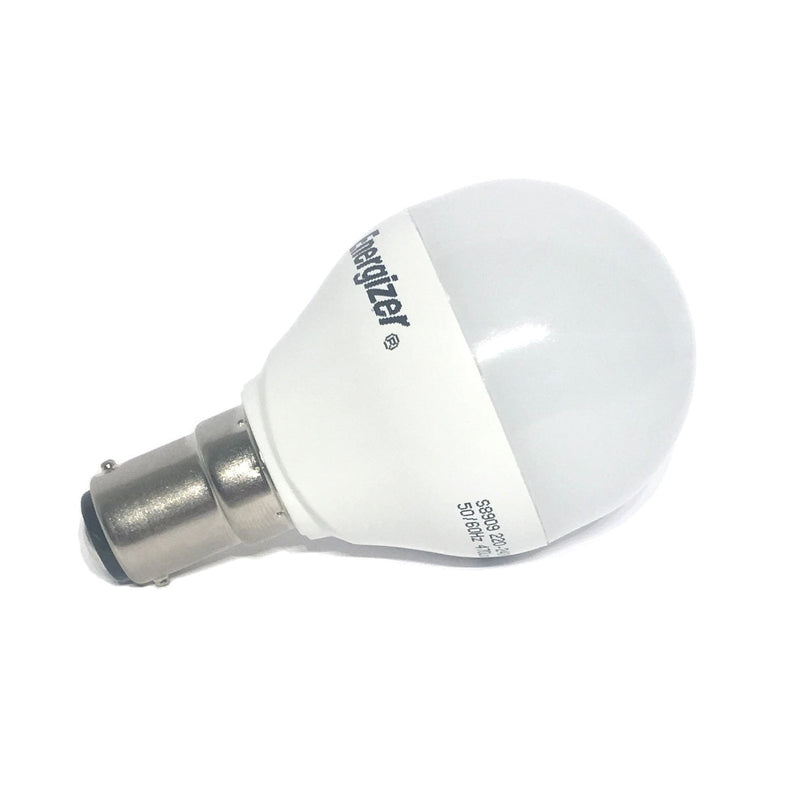 Energizer 6W LED Golf Ball SBC/B15d Warm White Bulb - LEDSmiths.com - 2