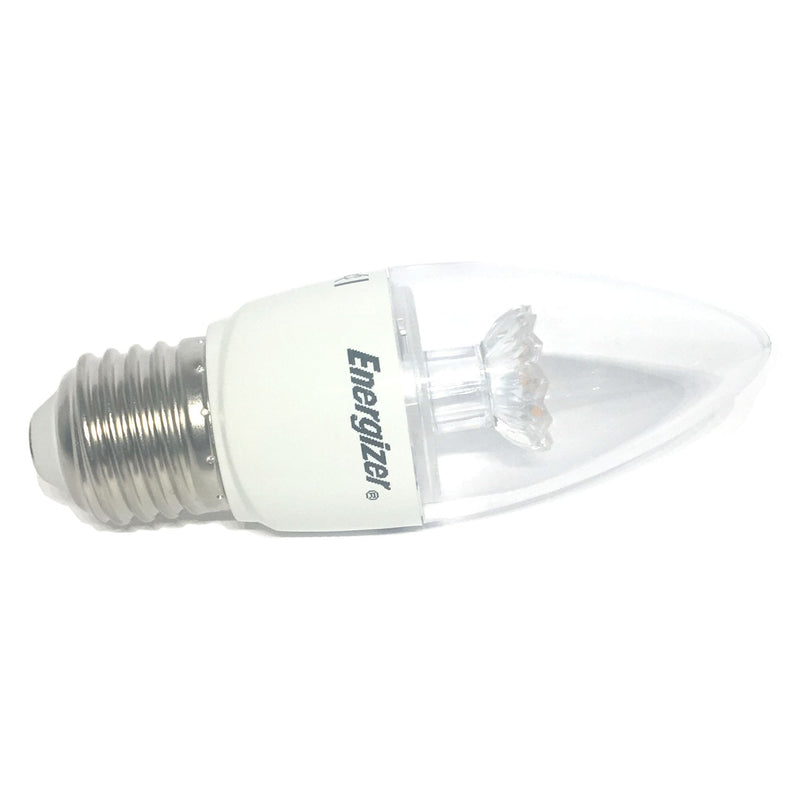 Energizer 6W LED Clear Candle ES/E27 Light Bulb - LEDSmiths.com - 2
