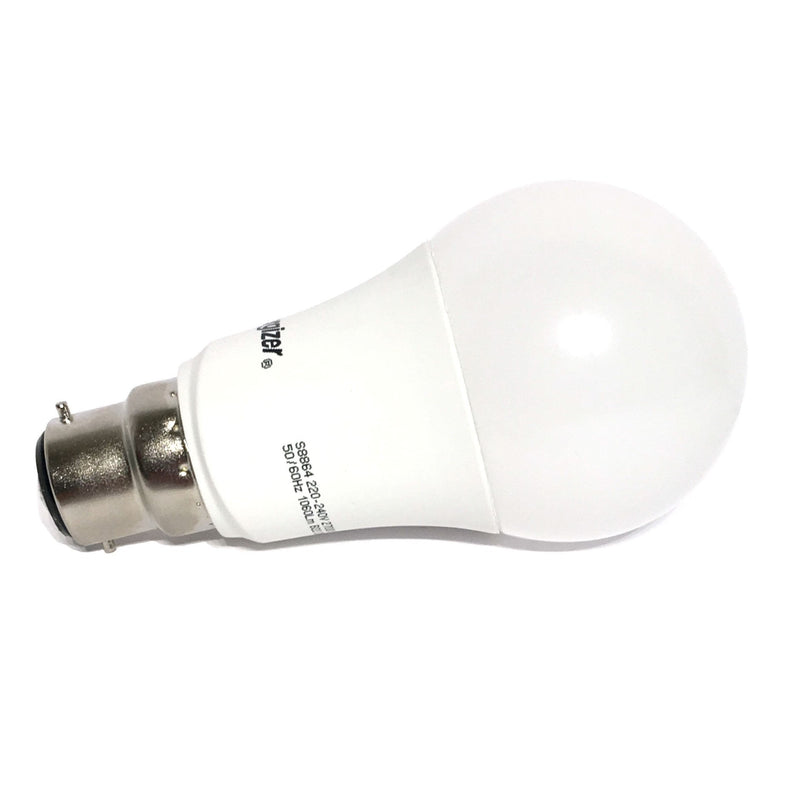 Energizer 12W-75W LED BC/B22d GLS Warm White Light Bulb - LEDSmiths.com - 2