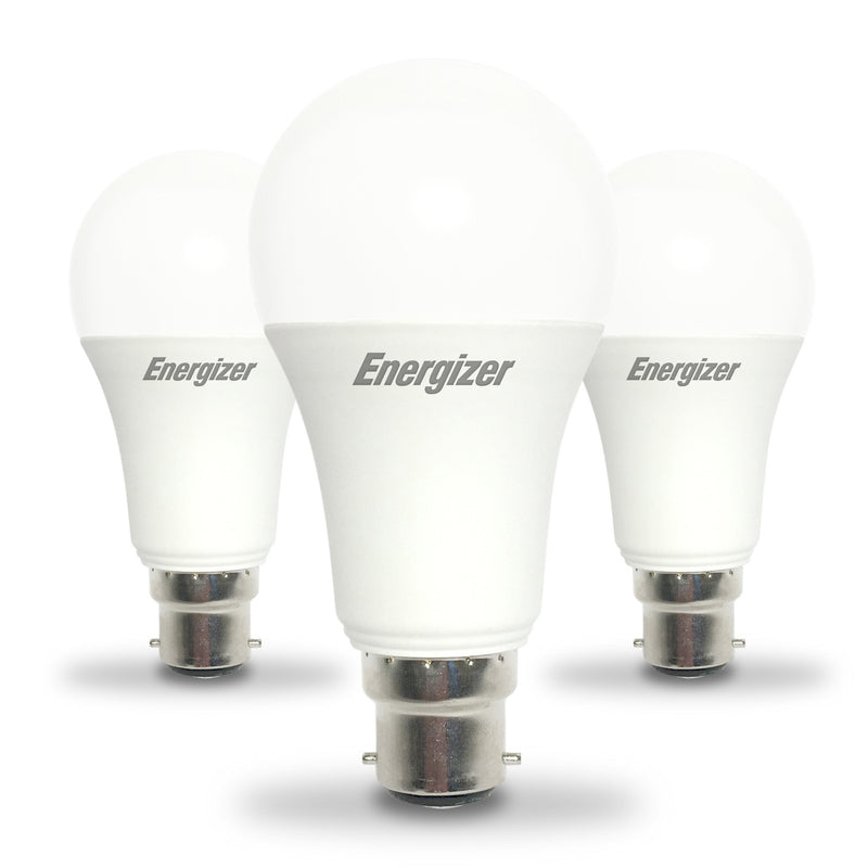 Energizer 13W LED GLS BC/B22d Light Bulb Pack of 3 - LEDSmiths.com