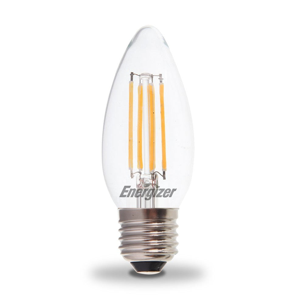Energizer 4w 40w Led Candle Es E27 Filament Non Dim Light Bulb By Driver Powers Halogen Replacement