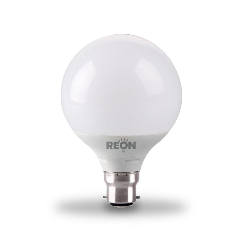 Kosnic Reon 11W-72W LED BC/B22d G95 Globe Non-Dim Warm White Light Bulb