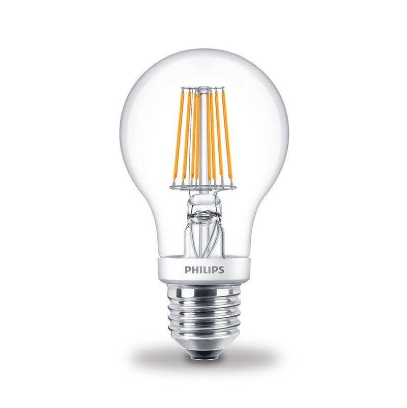 Philips 7.5W/60W LED ES/E27 GLS Filament Dim-Tone Light Bulb