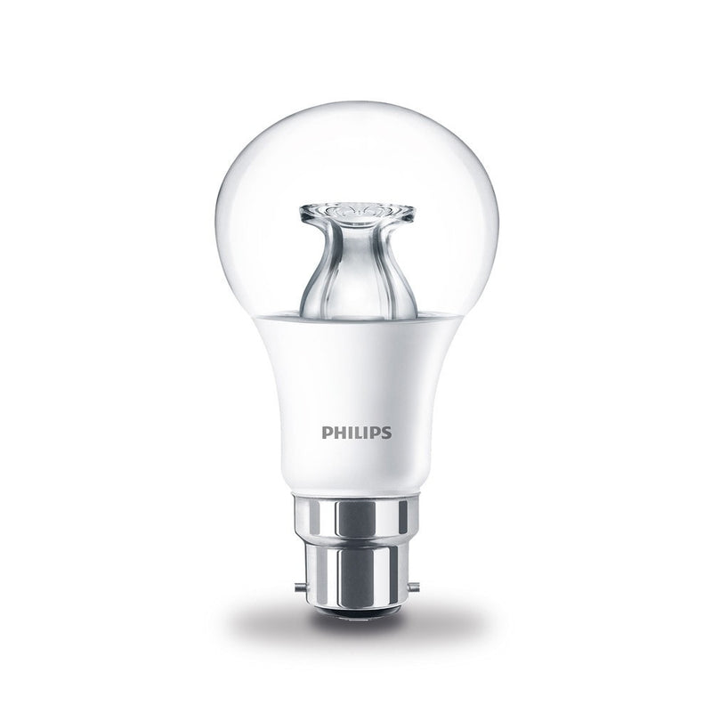 Philips 8.5W-60W LED Master GLS BC/B22d DimTone Warm White Bulb