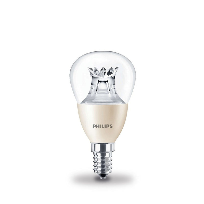 Philips 6W-40W LEDlustre Golf Ball SES/E14 DimTone Warm White