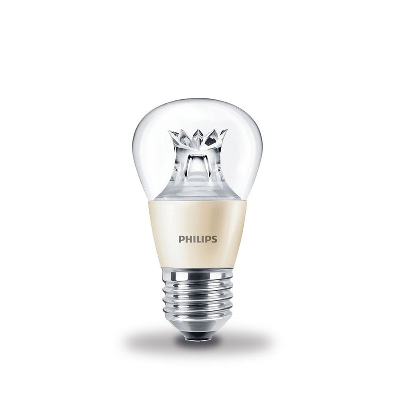 Philips 6W-40W LEDlustre Golf Ball ES/E27 DimTone Warm White