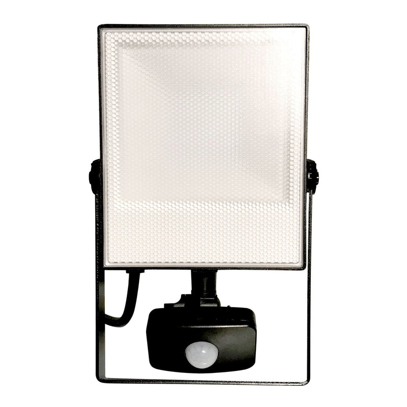 Energizer Floodlight 30W-300W with PIR Sensor IP44 Super Slim LED Non-Dim Daylight