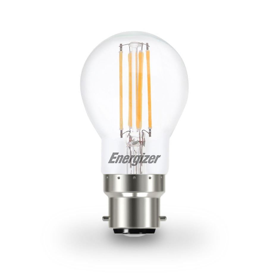 Energizer 4W-40W LED Golf Ball BC/B22d Filament Non-Dim Light Bulb - LEDSmiths.com