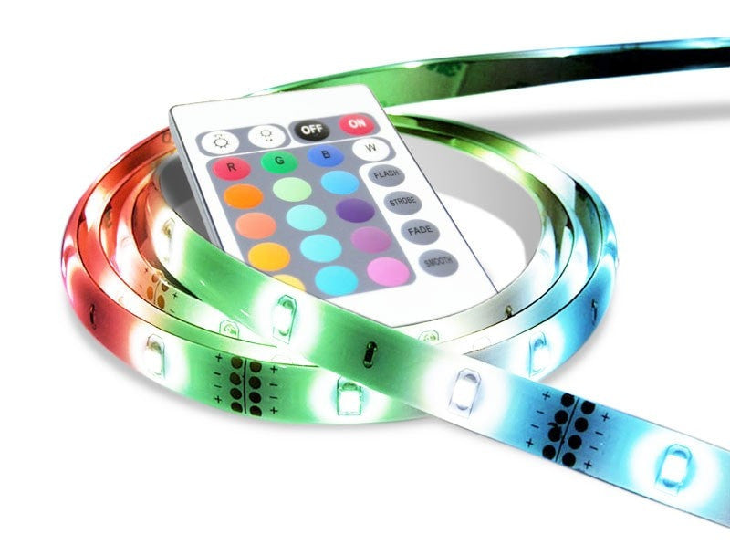 PowerMaster LED 2M RGB Flexible Strip Light Kits - LEDSmiths.com