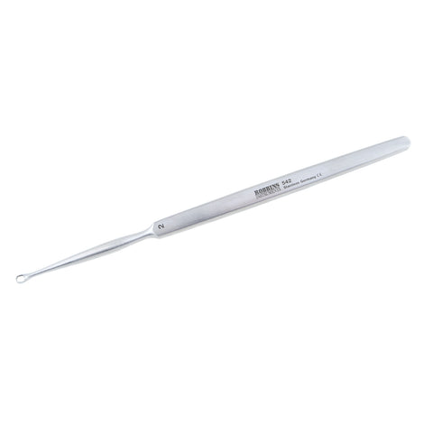 German Pattern Fox Oval Curette 2mm - 2.542