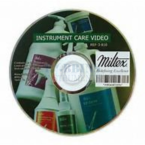 Instrument Care Dvd - Mx3-810