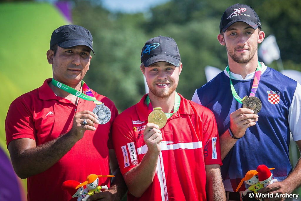 SCOTT ARCHERY'S DOMAGOJ BUDEN, CHRISTIE COLIN & KRIS SCHAFF TAKE HOME BRONZE IN WORLD GAMES