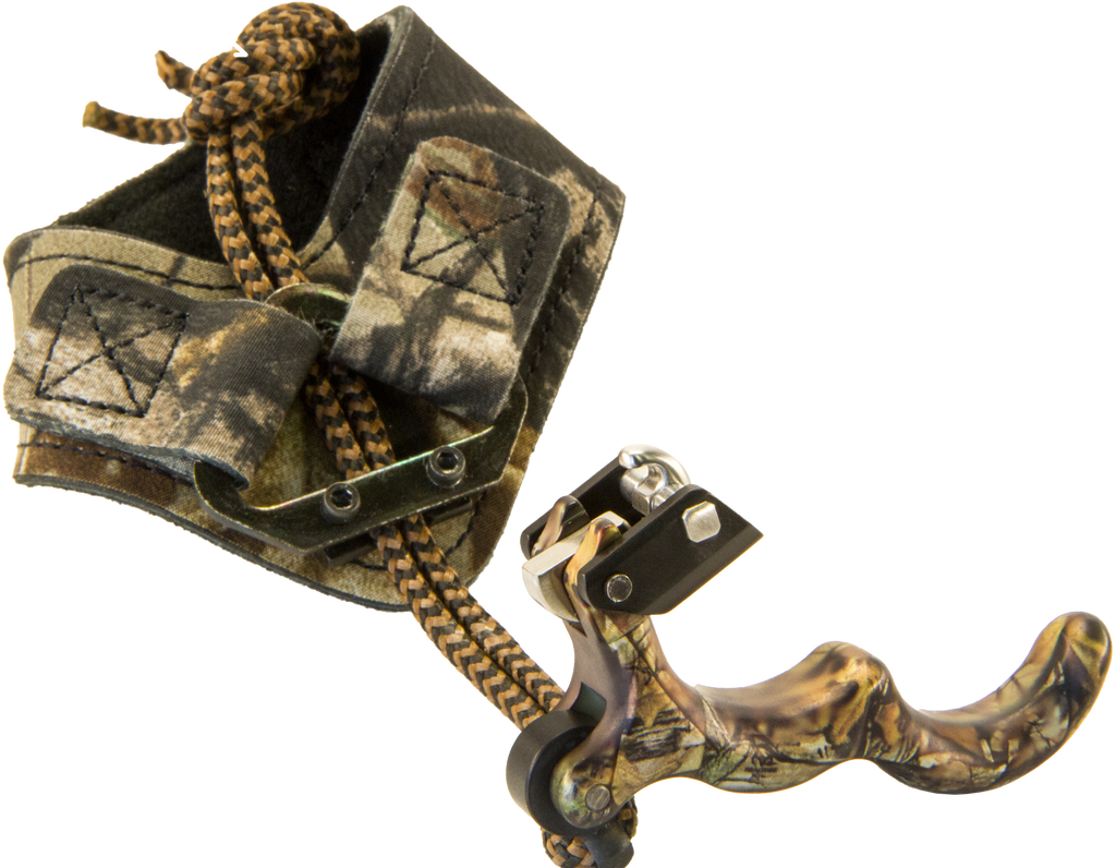 New Scott Archery Longhorn Hex Release Buckle Strap in Realtree Xtra Camo