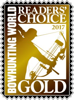 Bowhunting World Readers Choice Award Gold