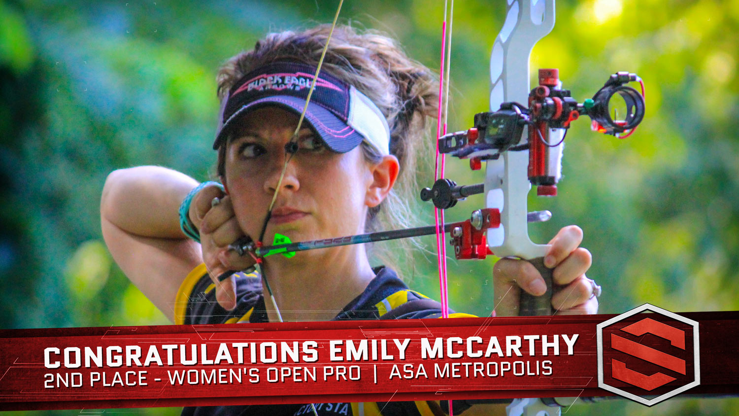 ASA Metropolis - Emily McCarthy Wins 2nd Place for Women's Open Pro using her Scott Archery Mini Advantage