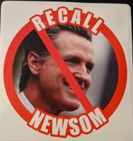 Recall Newsom decal