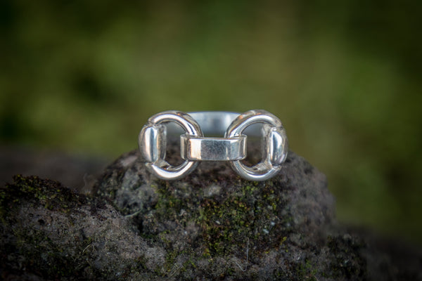 Snaffle Bit Link Ring