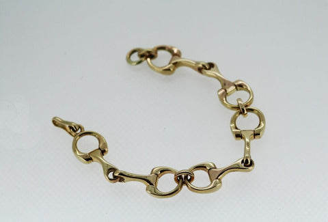 Bit Bracelet - Gold - Three Bits - Small