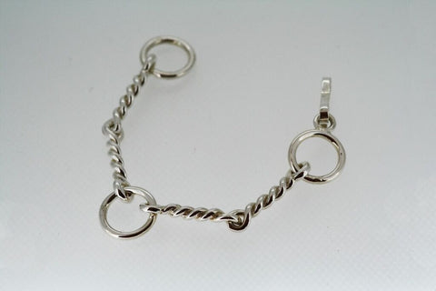 Single Twisted Wire Bit Bracelet