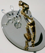 Load image into Gallery viewer, Crystal Bowling Scene Handcrafted By Bjcrystalgifts Using Swarovski Crystal