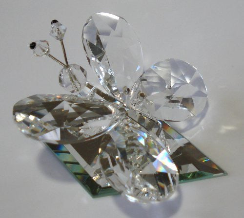 Crystal Butterfly Handcrafted By Artisans At Bjcrystalgifts Using Swarovski Crystal