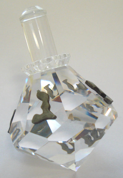 Crystal Dreidel Handcrafted By Bjcrystalgifts Using Swarovski Crystal