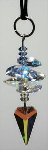 Hanging Crystal Ornament Handcrafted By Bjcrystalgifts Using Swarovski Crystal - Crystal Ornament