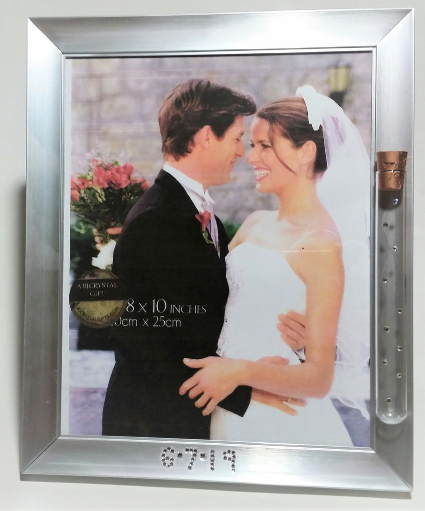 Personalized Wedding Picture Frame For Jewish Wedding- Jewish Engagement Gift - 8 x 10 Picture Frame