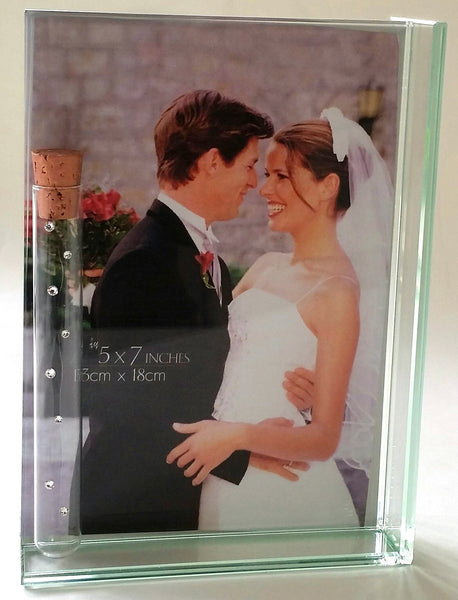 Photo Frame For Jewish Wedding - Holds The Shards From Wedding Ceremony - Jewish Engagement Gift