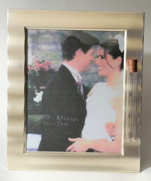 Wedding Picture Frame - Holds Shards from Jewish Wedding Ceremony Jewish Engagement - Holds 8x10 Photo - Jewish Wedding