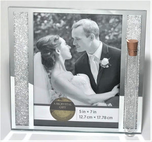 Jewish Wedding Picture Frame Holds Shards Broken Under The Chuppah - Jewish Wedding Engagement Gift