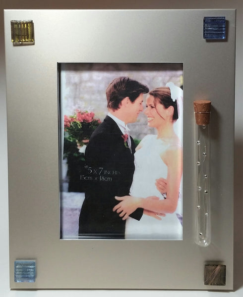 Jewish Wedding Picture Frame - Hold Shards From Jewish Wedding Ceremony - Jewish Engagement Gift