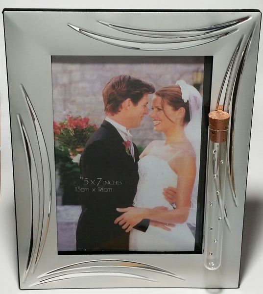 Jewish Wedding Picture Frame - Jewish Engagement - Holds Shards From Wedding Ceremony