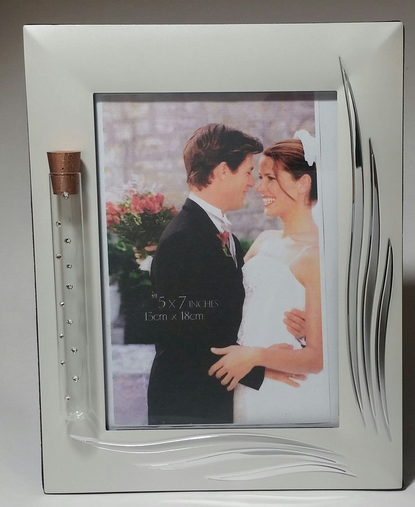 Jewish Wedding Picture Frame - Jewish Engagement Gift - 5 x 7 Inch Picture