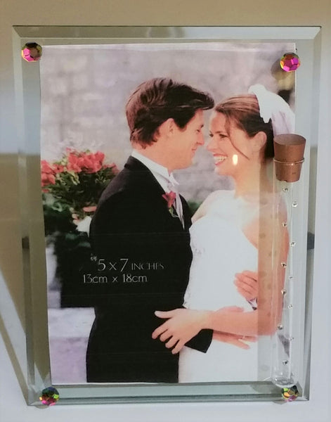 Jewish Wedding Picture Frame - Holds Shards From Wedding Ceremony - Jewish Wedding Gift