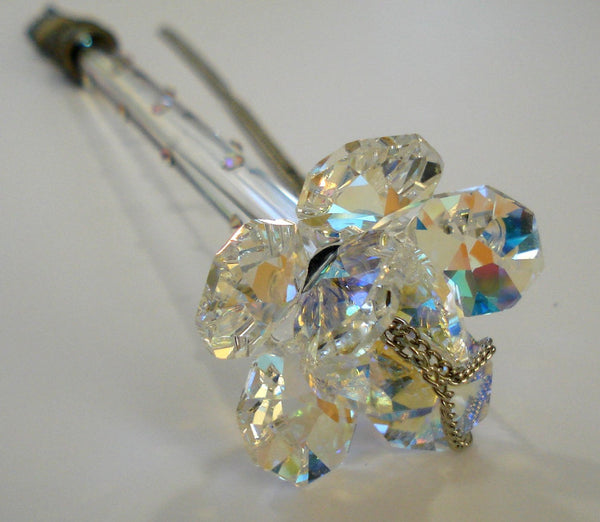 Torah Pointer - Yad -Handcrafted By the Artisans At Bjcrystalgifts Using Swarovski Crystal - Bat Mitzvah