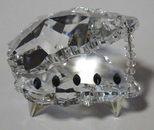 Crystal Piano - Grand Piano Miniature Figurine Made Using Swarovski Crystal