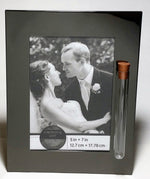Load image into Gallery viewer, Modern, Sleek Jewish Wedding Picture Frame - Jewish Engagement Gift - Shards From Chuppah